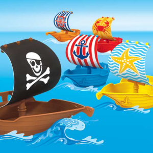 Pirate Ship Slushy Cup and Toy